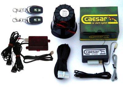 Caesar CT-204UR extra távkapcsolós autóriasztó